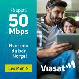 viasat internett satellittbredbånd via parabol